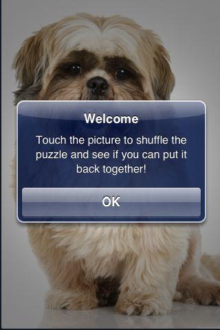 SlidePuzzle - Shih Tzu screenshot #2