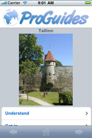 ProGuides - Tallinn screenshot #1