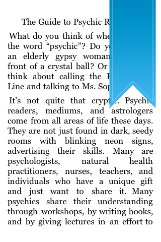 The Guide to Psychic Readings screenshot #5