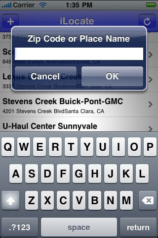 iLocate - Car Rentals screenshot #3