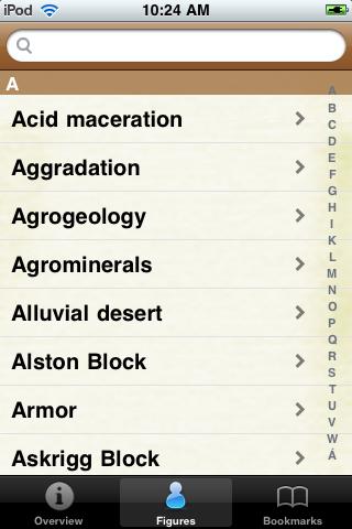 Geology Glossary Book screenshot #2
