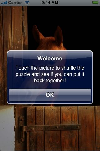 SlidePuzzle - Horse screenshot #2