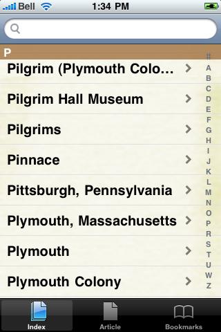 The Pilgrims Study Guide screenshot #3