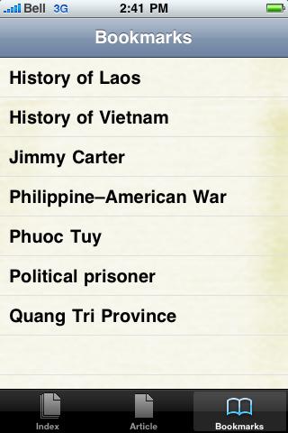 Vietnam War Study Guide screenshot #3