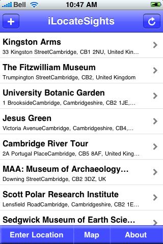Cambridge, United Kingdom Sights screenshot #2
