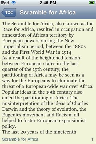 The Scramble for Africa screenshot #2