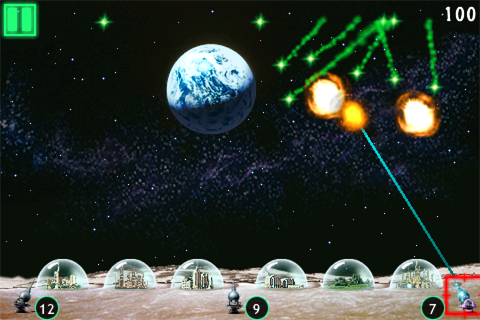 Missile Command Ultra screenshot #3