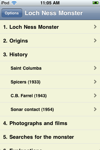 The Loch Ness Monster screenshot #1