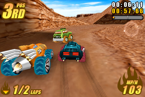 Burning Tires™ Free screenshot #1