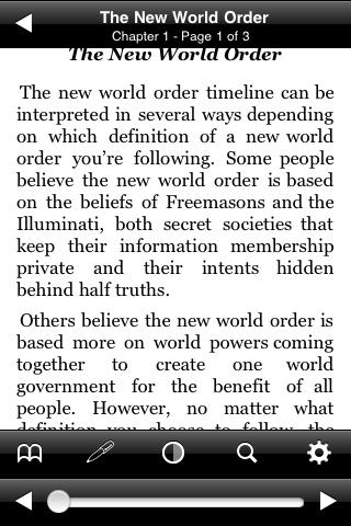 The New World Order screenshot #2