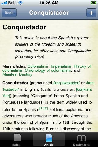 The Conquistardors Study Guide screenshot #1