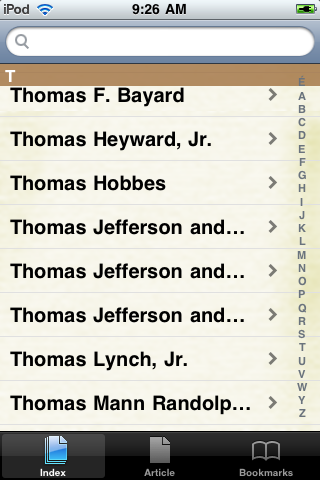 Thomas Jefferson Study Guide screenshot #2