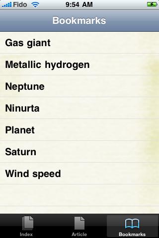 Saturn Study Guide screenshot #3