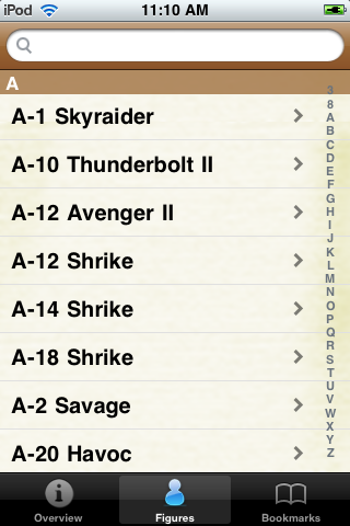 Aircraft Models Pocket Book screenshot #3