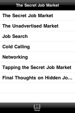 The Secret Job Market screenshot #3