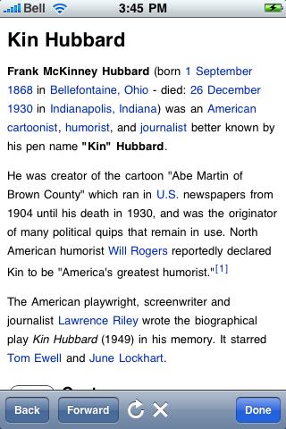 Kin Hubbard Quotes screenshot #1