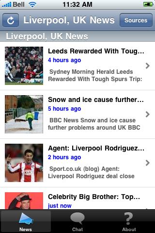 Liverpool, UK News screenshot #1