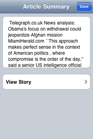 Middle Eastern News screenshot #3