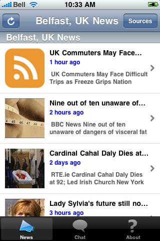 Belfast, UK News screenshot #1