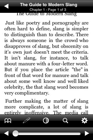The Guide to Modern Slang screenshot #2