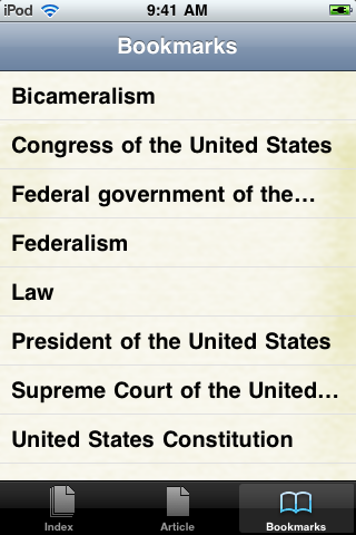 United States Constitution Study Guide screenshot #3