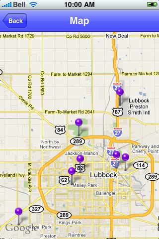 Lubbock, Texas Sights screenshot #1