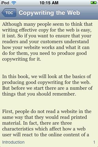 Copywriting for the Web screenshot #3