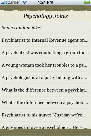 Psychology Jokes screenshot #3