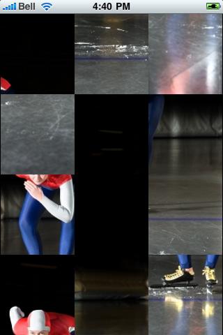 Speed Skater Slide Puzzle screenshot #3