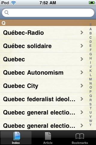 Quebec Separatism Study Guide screenshot #2