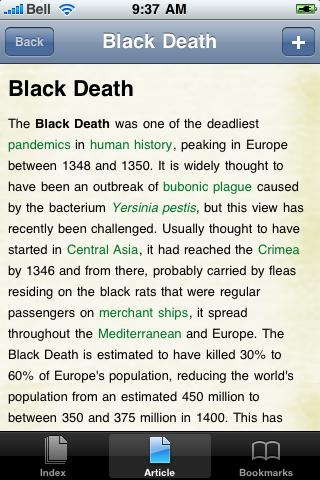 The Black Death Study Guide screenshot #1