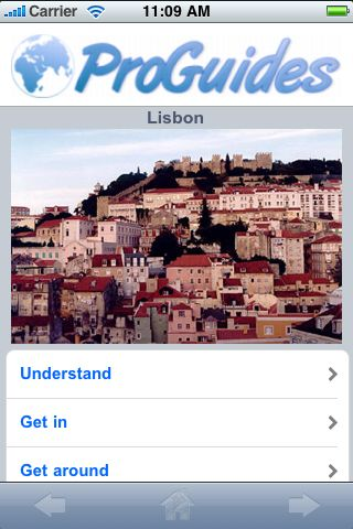 ProGuides - Lisbon screenshot #1