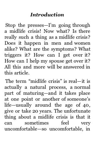 Getting Through a Midlife Crisis screenshot #3
