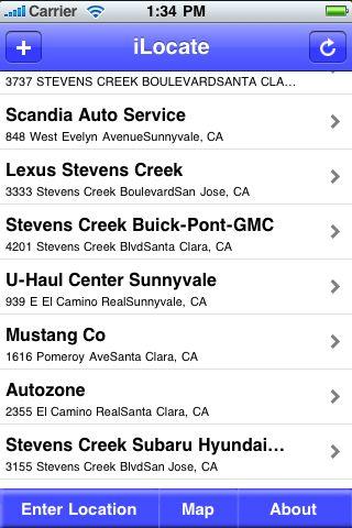 iLocate - Convenience Stores screenshot #1