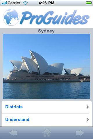 ProGuides - Sydney screenshot #1