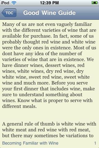 Great Wine Guide screenshot #2