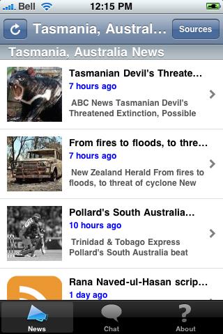 Tasmania, Australia News screenshot #1
