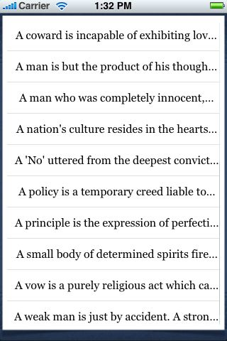 Mohandas Gandhi Quotes screenshot #4
