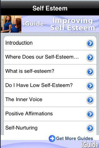 iGuides - Improving Self-Esteem screenshot #1