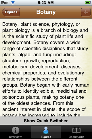 Botany Guide Pocket Book screenshot #3