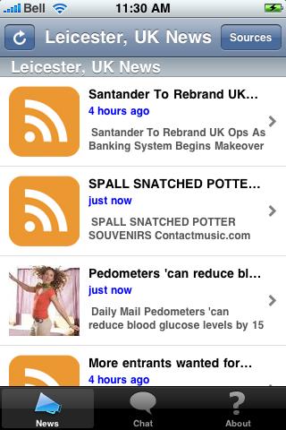 Leicester, UK News screenshot #1