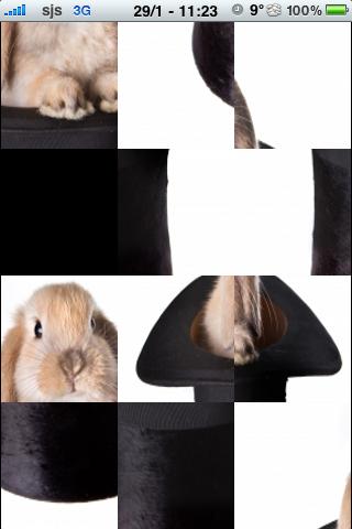 Magic Rabbit Slide Puzzle screenshot #2
