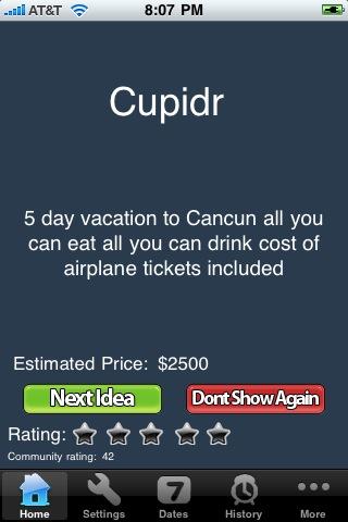 Cupidr screenshot #1