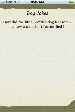 Dog Jokes screenshot #1