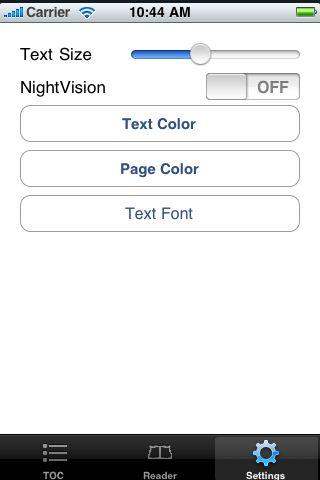 iReader - The Picture of Dorian Gray screenshot #5