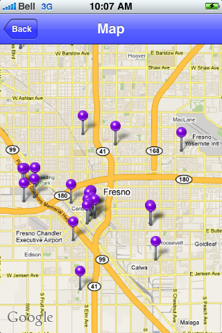 Fresno, California Sights screenshot #1