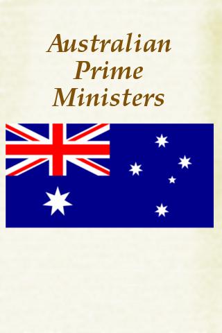Prime Ministers of Australia Pocket Book screenshot #1