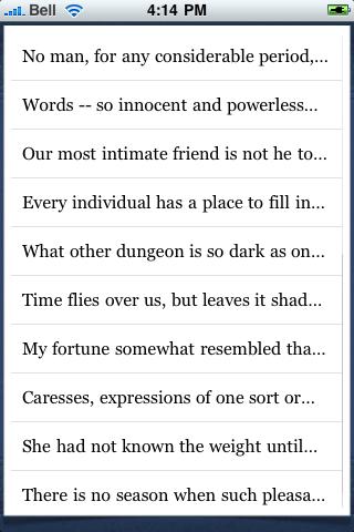 Nathaniel Hawthorne Quotes screenshot #3