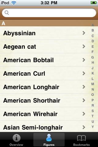 Cat Species Pocket Book screenshot #2