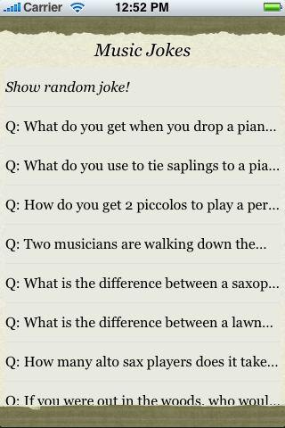 Music Jokes screenshot #3